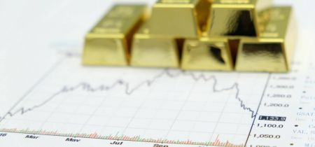 Gold is  nearing key support