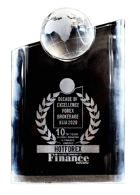 DECADE OF EXCELLENCE FOREX BROKERAGE ASIA 2020